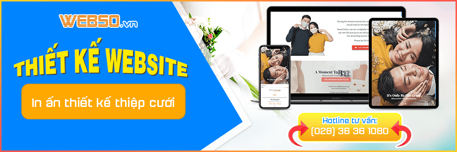Dịch vụ Thiết kế website Thiệp Cưới