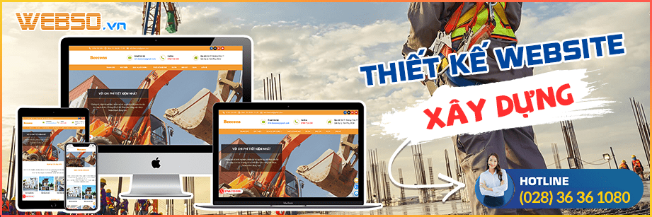 Dịch vụ Thiết kế website xây dựng
