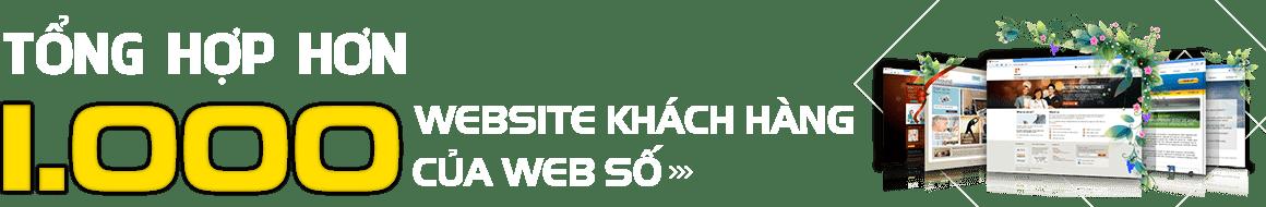 Hơn 1000 khách hàng đã tin và sử dụng dịch vụ tại Web Số