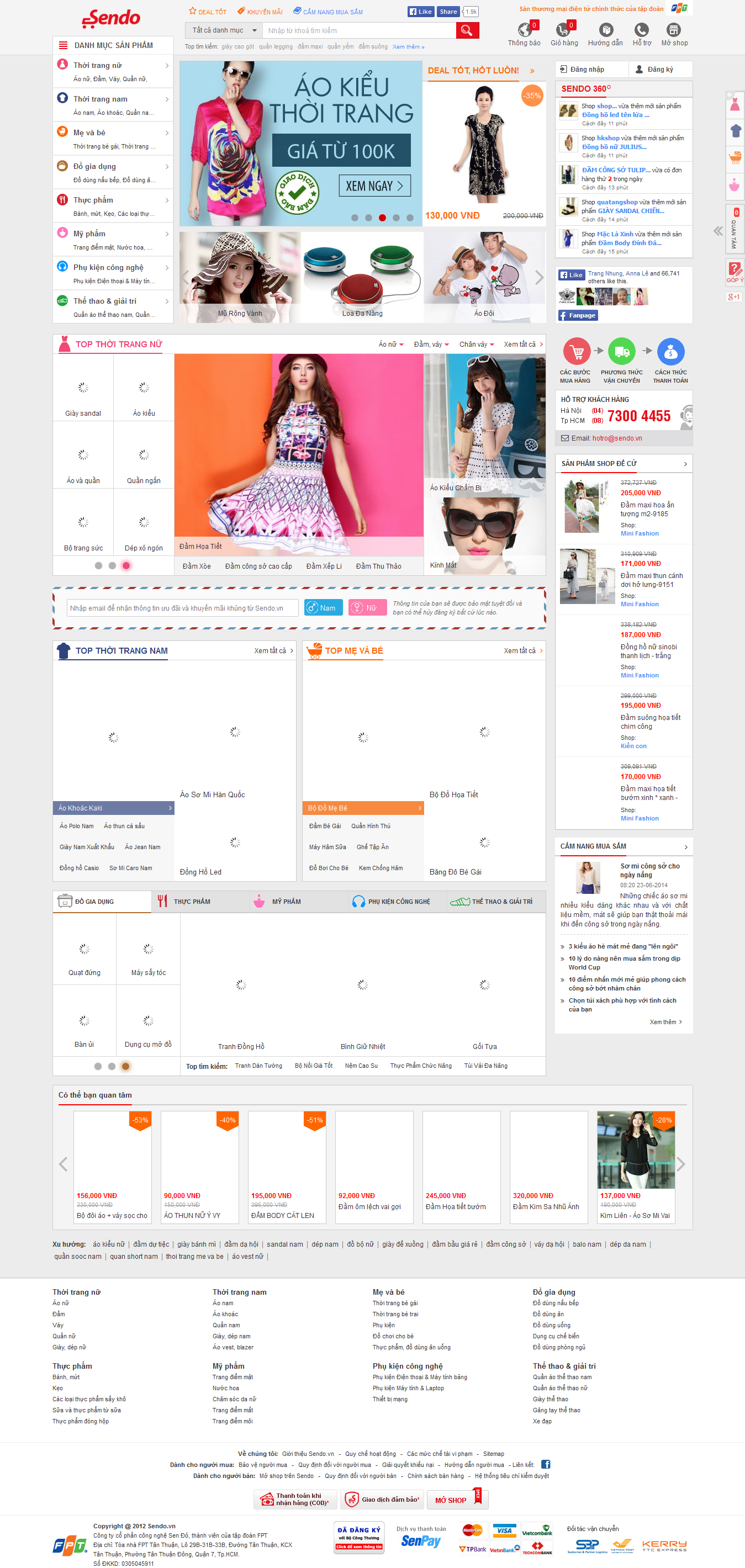 Mẫu website bán hàng 10336