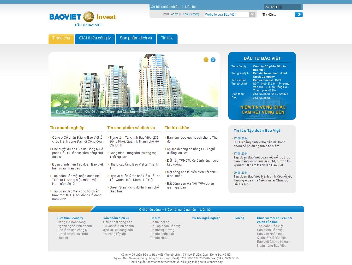 Mẫu website giới thiệu công ty 1093