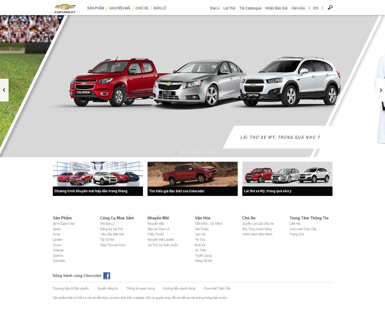 Mẫu website giới thiệu xe 10254