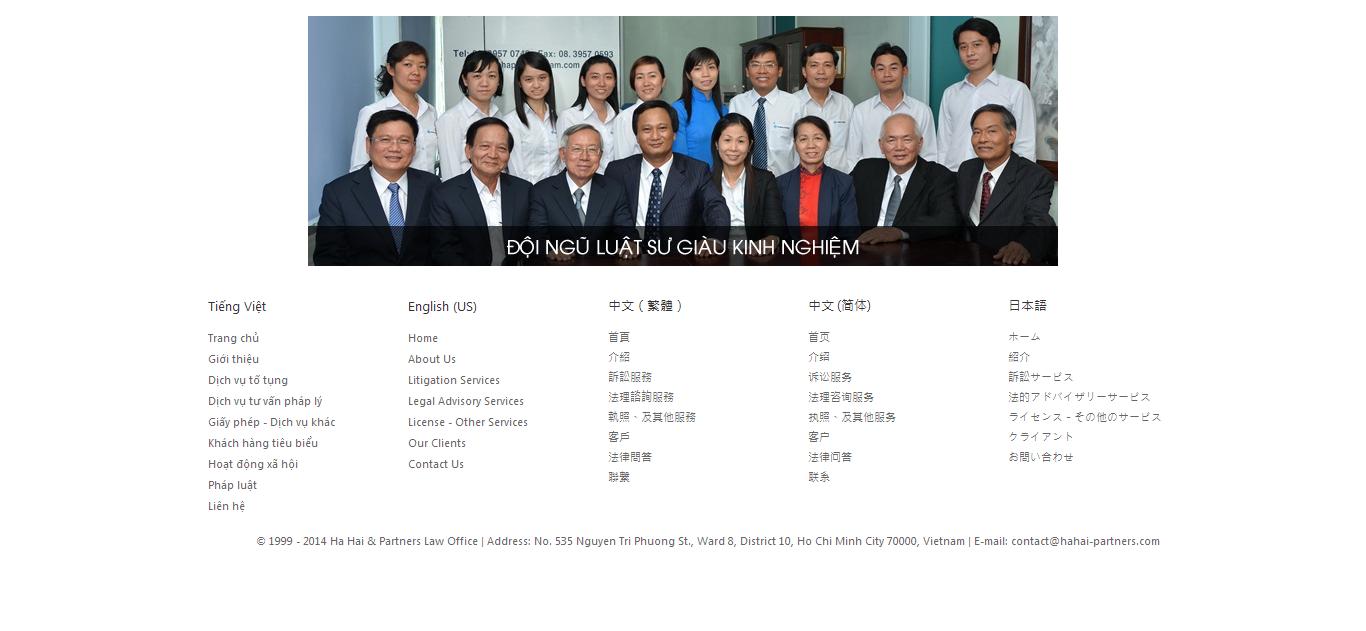 Mẫu website luật 10174