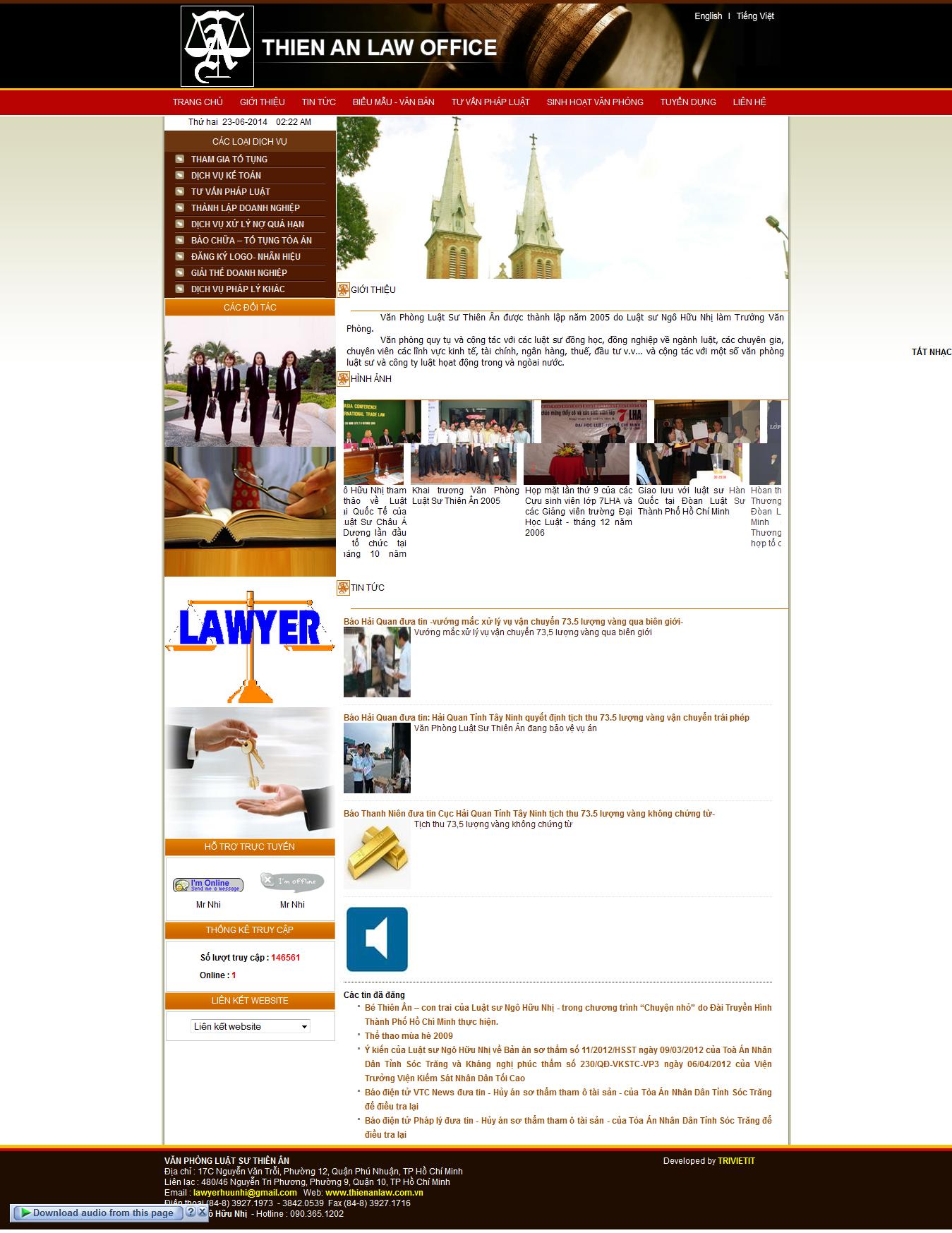 Mẫu website luật 10175