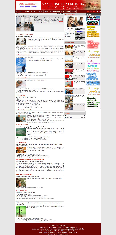 Mẫu website luật 10178