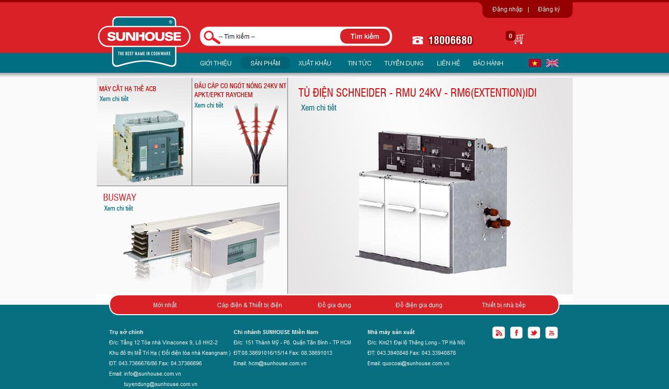 Mẫu website bán đồ gia dụng 10106