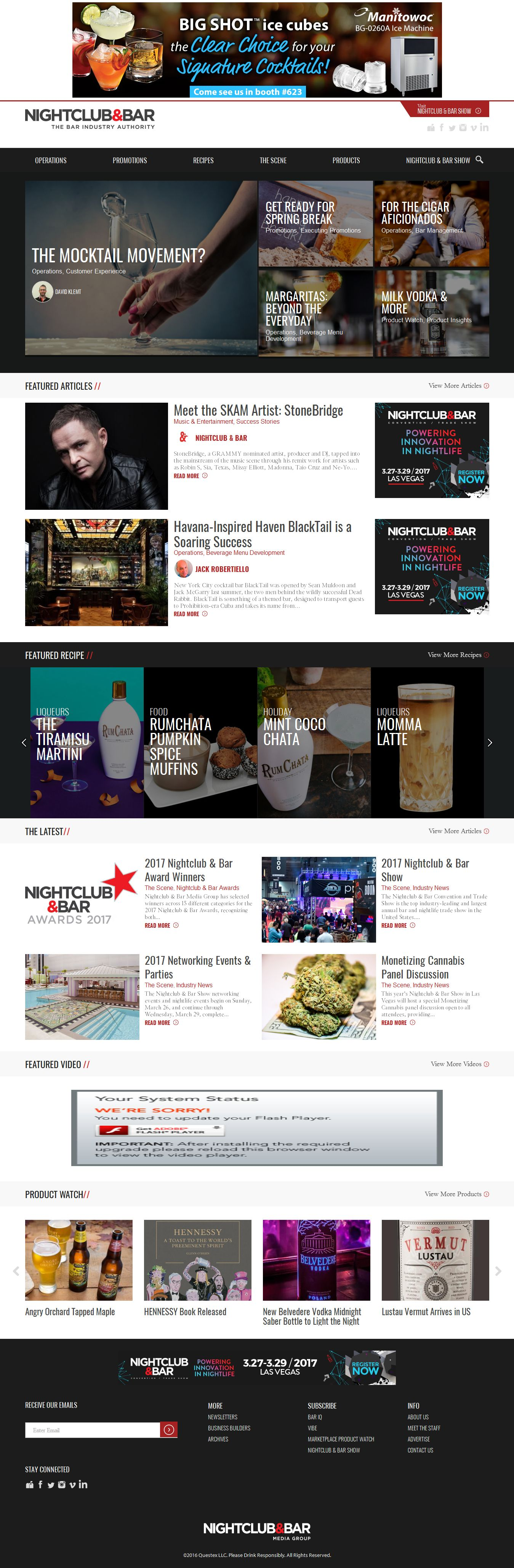 Mẫu website bar 10292