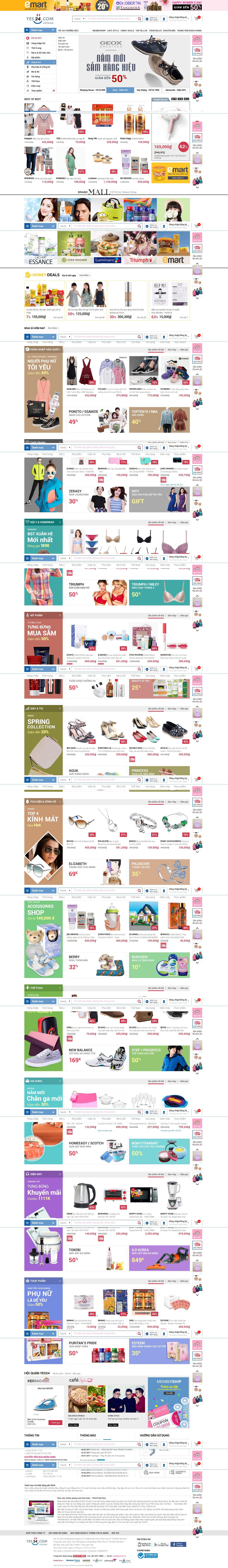 Mẫu website mỹ phẩm 10464