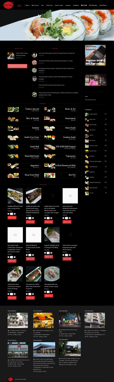 Mẫu website nhà hàng 10286