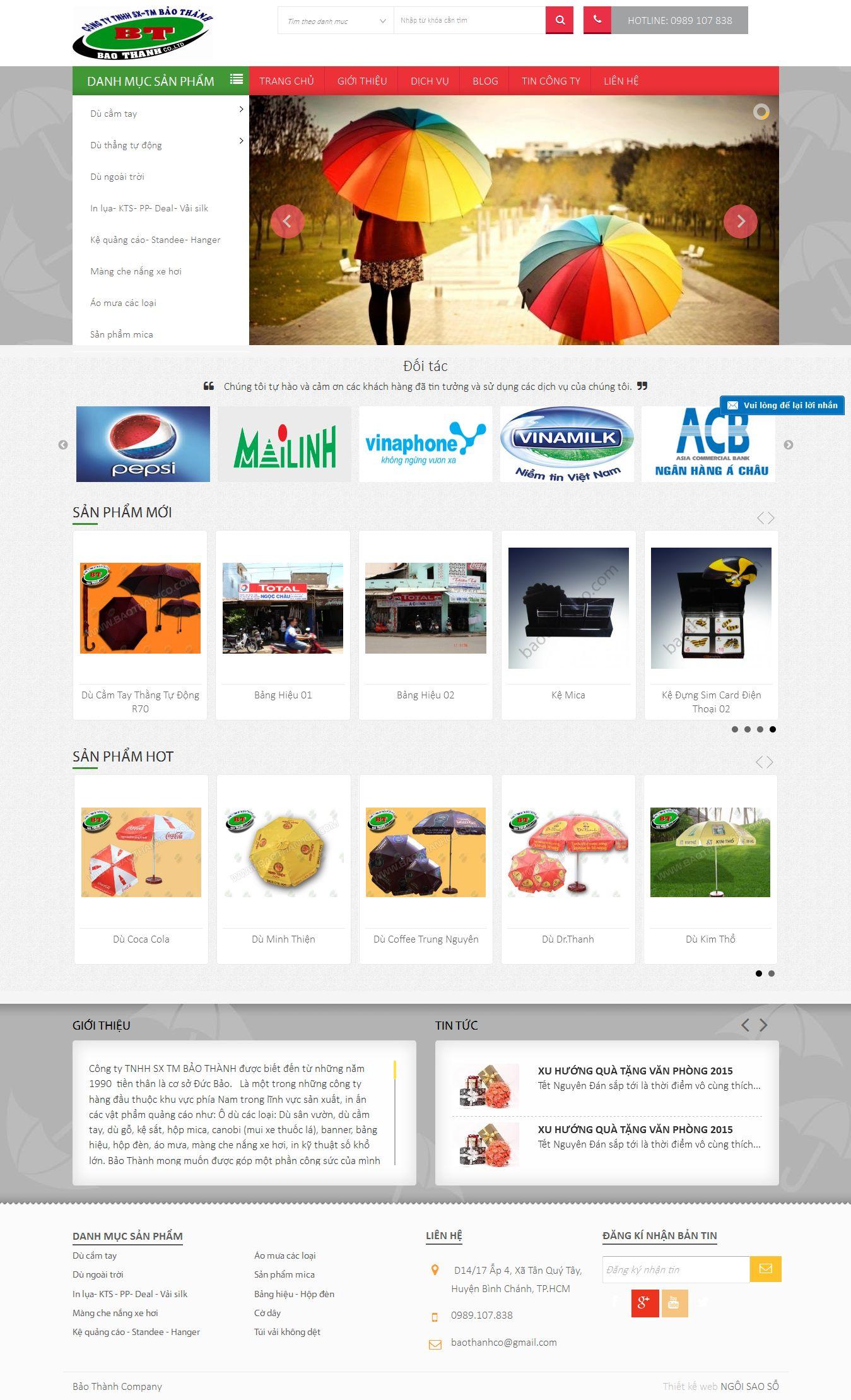 Mẫu website quà tặng 10266