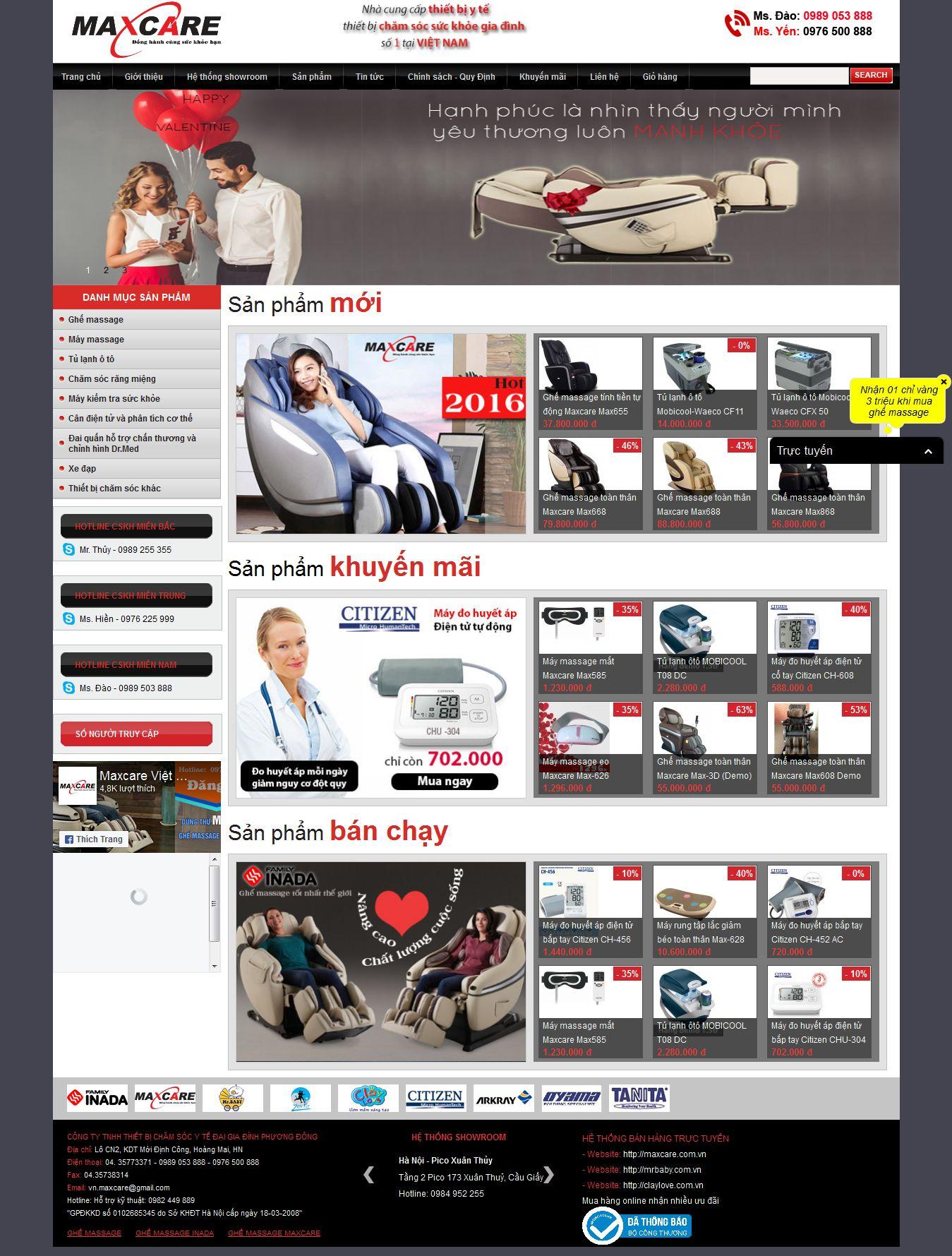 Mẫu website thiết bị y tế 10461