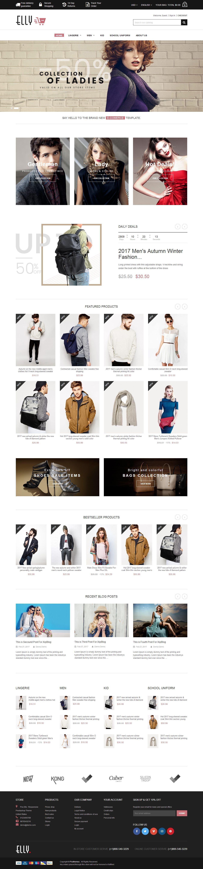 Mẫu website thời trang 12453