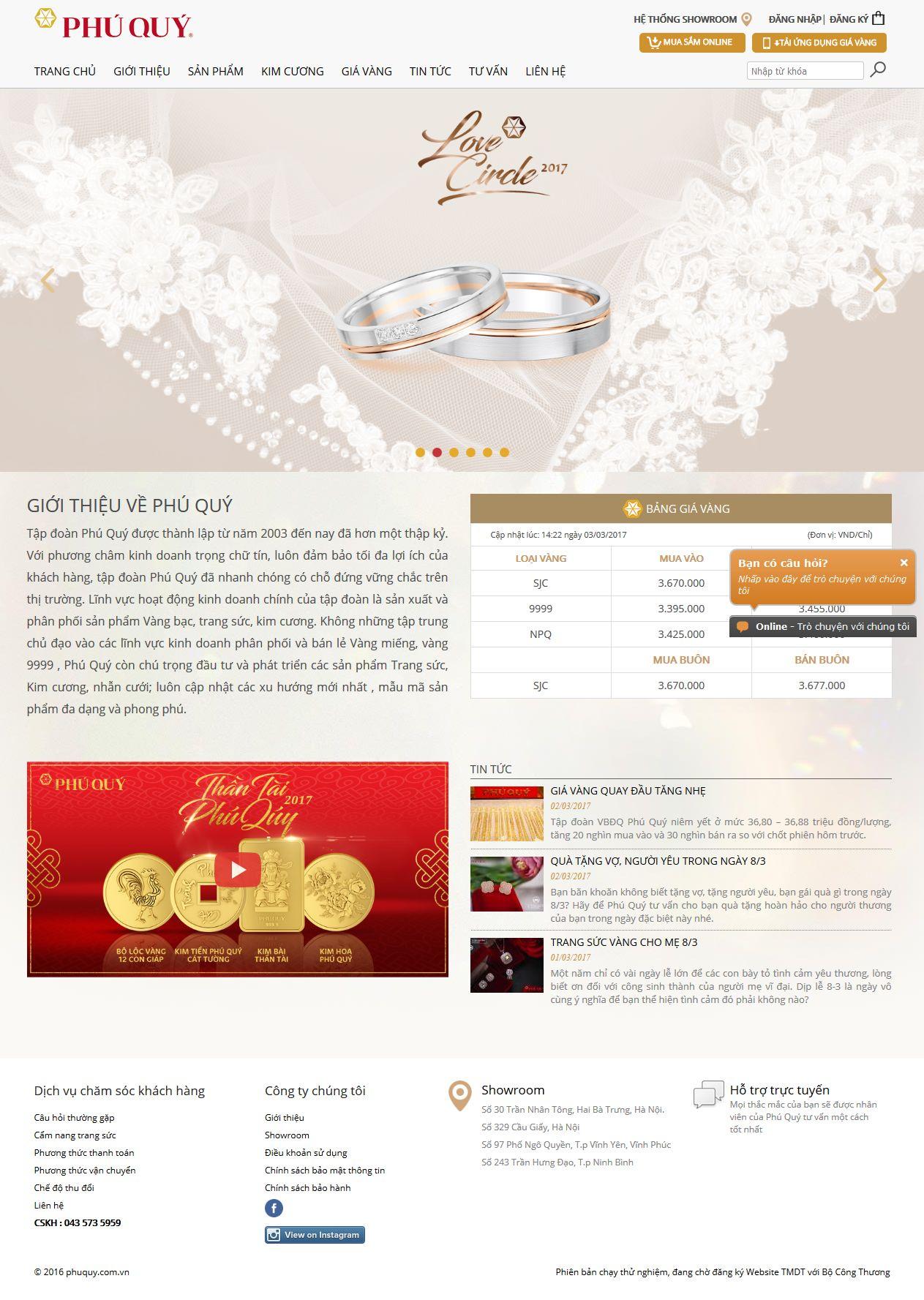 Mẫu website trang sức10396