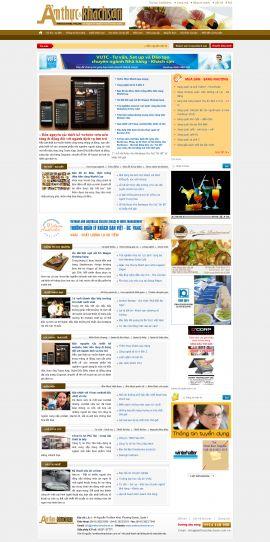 Mẫu website nhà hàng - tiệc cưới 10206