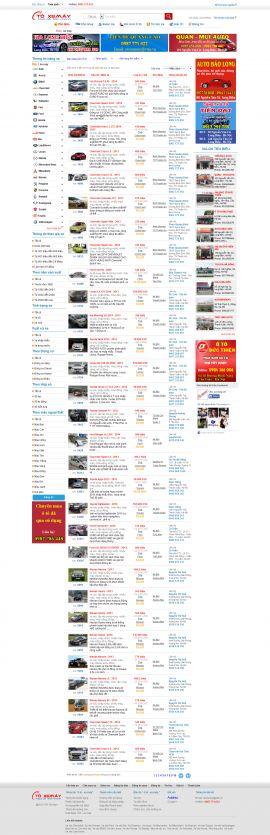 Mẫu website Ôtô - xe máy 10247