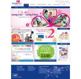 Mẫu website siêu thị 10295
