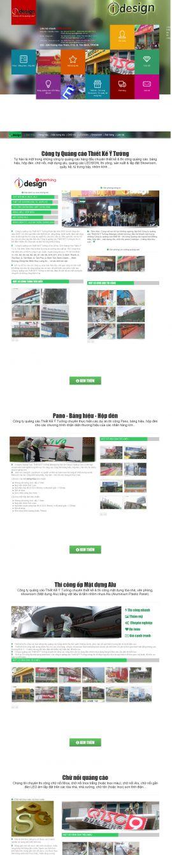 Mẫu website thiết kế in ấn 10128