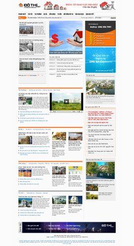 Mẫu website bất động sản 10227