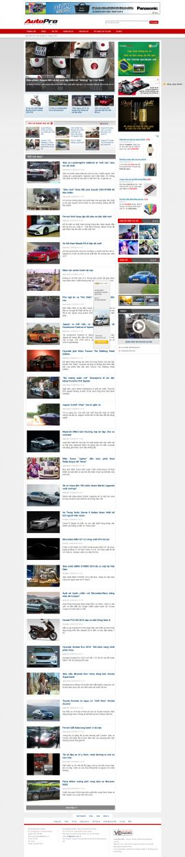 Mẫu website giới thiệu xe 10248
