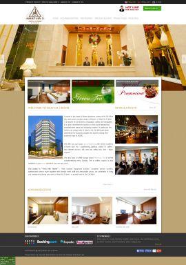 Mẫu website khách sạn 10285