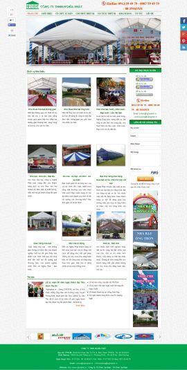 Mẫu website tổ chức sự kiện 10374