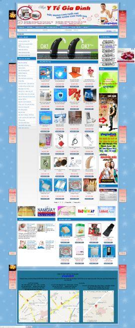 Mẫu website thiết bị y tế 10448