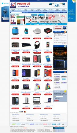 Mẫu website bán hàng điện tử 10188