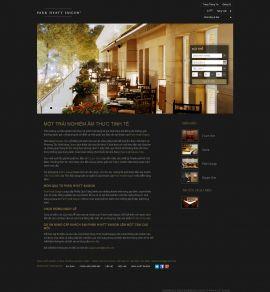 Mẫu website nhà hàng - tiệc cưới 10208