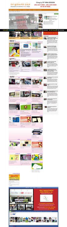 Mẫu website thiết kế in ấn 10130