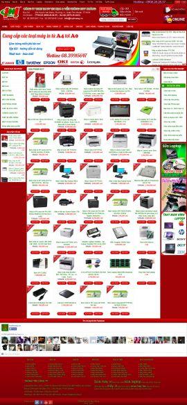 Mẫu website bán linh kiện điện tử 10189