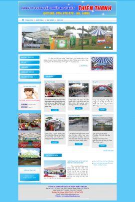 Mẫu website tổ chức sự kiện 10376
