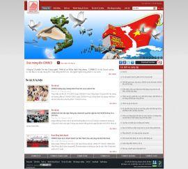 Mẫu website giới thiệu công ty 1091