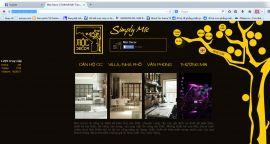 Mẫu website thiết kế nội thất 10151