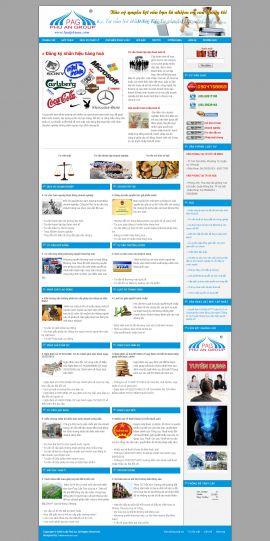Mẫu website luật 10170