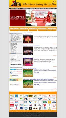 Mẫu website tổ chức sự kiện 10377