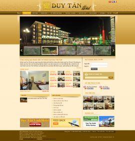 Mẫu website nhà hàng - tiệc cưới 10210
