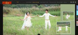 Mẫu website áo cưới 10320