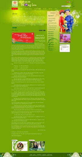 Mẫu website nhà hàng 10358