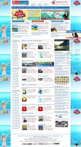 Mẫu website du lịch 1054