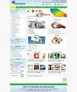 Mẫu website thiết kế quảng cáo 10133