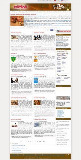 Mẫu website luật 10172