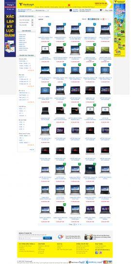 Mẫu website thương mại điện tử 10191