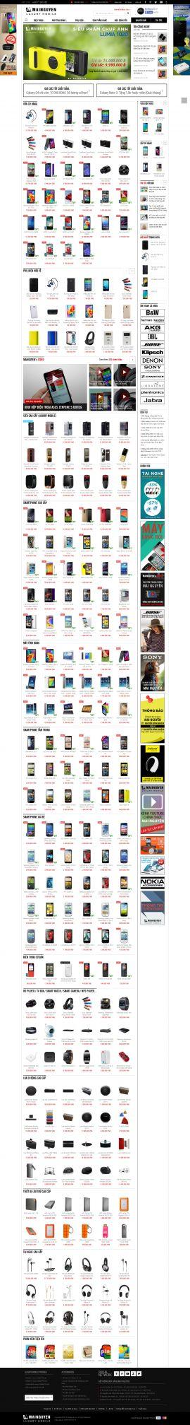 Mẫu website thương mại điện tử 1006