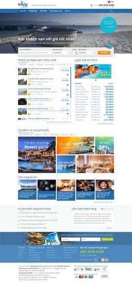Mẫu website khách sạn 10212