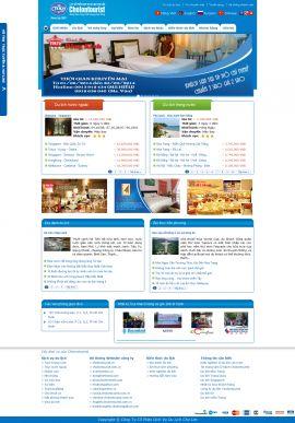 Mẫu website du lịch 1055
