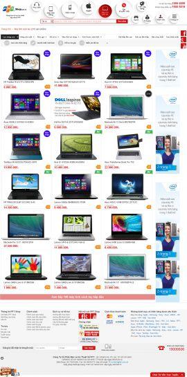 Mẫu website thương mại điện tử 10192