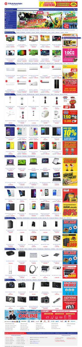Mẫu website thương mại điện tử 10193