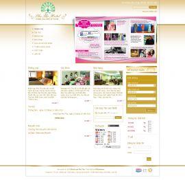 Mẫu website giới thiệu khách sạn 10214