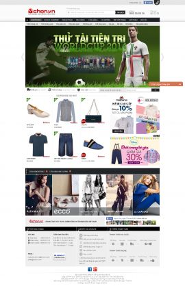 Mẫu website thời trang 10342
