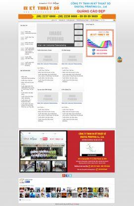 Mẫu website thiết kế quảng cáo 10136